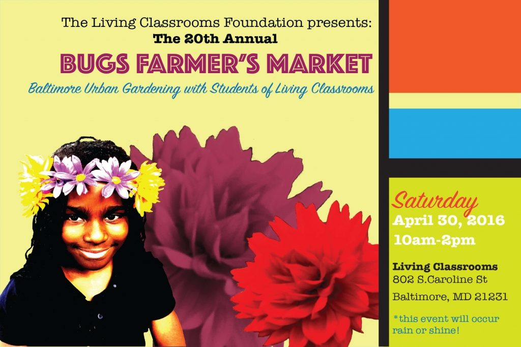 Students from East Baltimore Host Urban Farmers' Market