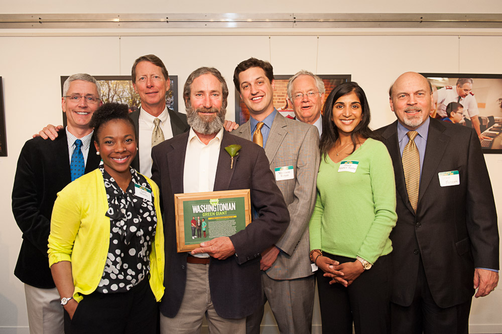 Living Classrooms Wins the Washingtonian Green Giant Award