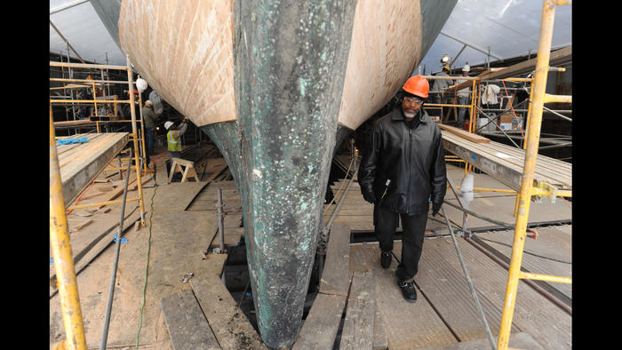 Restoration of Constellation gives ship and former inmates a fresh start