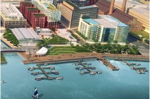 Public Marina to Open at the Yards This Weekend
