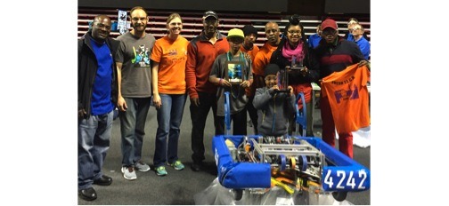 Support our Student Robotics Team and Help Send Them to the FIRST Robotics World Championship