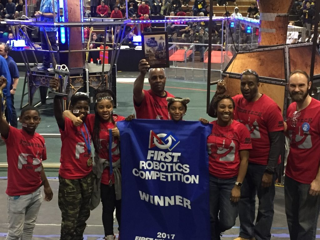 Living Classrooms' Robotics Team Wins District Championship