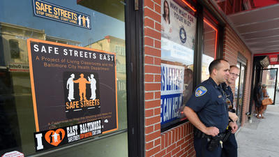 Three Baltimore neighborhoods picked for new Safe Streets anti-violence sites