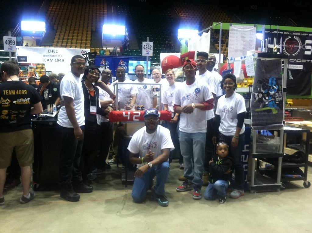 Fresh Start Students Compete in Robotics Competition