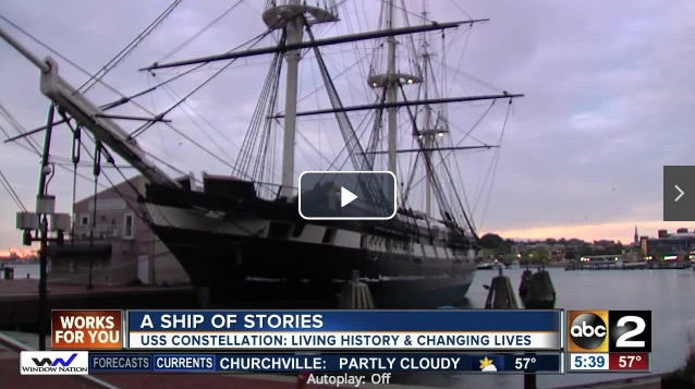 USS Constellation full of stories revealed at turnaround