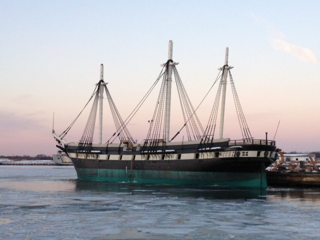 Restored USS Constellation Ready for Inner Harbor Return