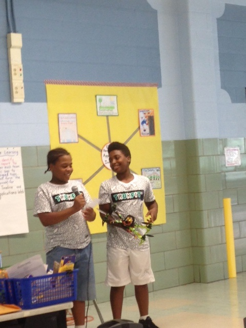 Students Graduate from STEM Camp