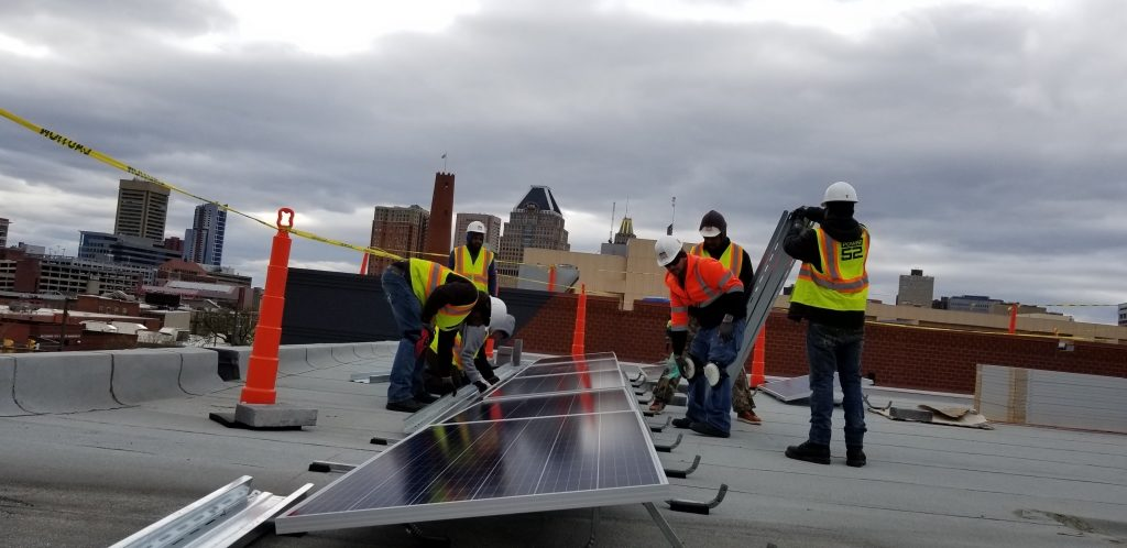 Nation's First Solar-Powered Community-Based Resiliency Hub Serving Baltimore City Public Housing