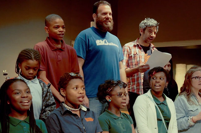 Future Islands & Lower Dens Team With Middle Schoolers For Moving Baltimore Tribute Song