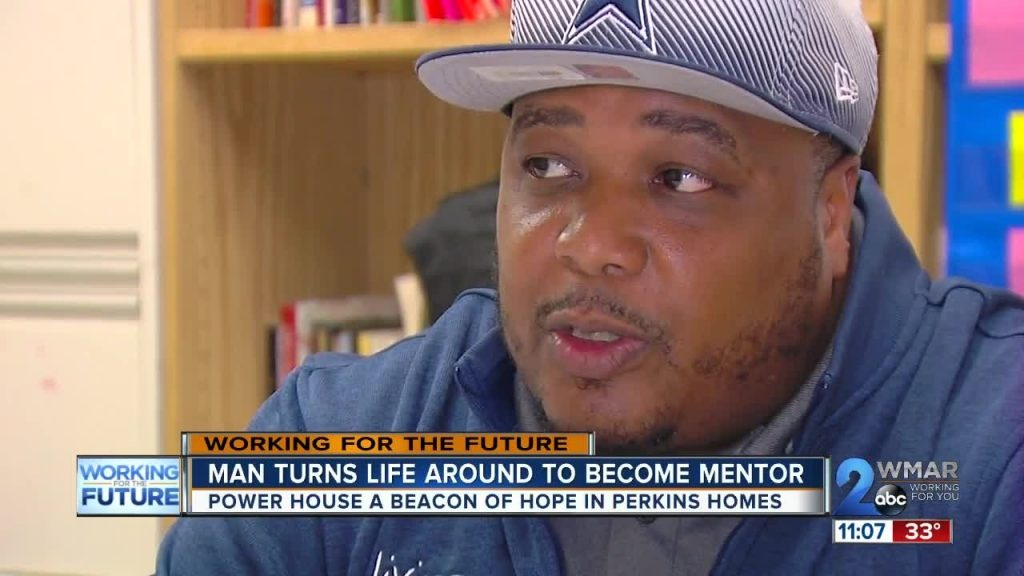 Man survives the streets to become the hero of the Perkins Homes