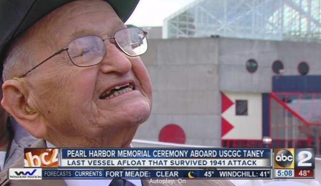 Pearl Harbor remembered aboard historic vessel in Baltimore