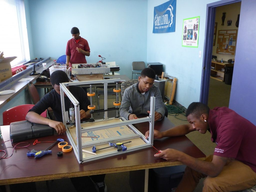 Fresh Start Students Entering Robotics Competition