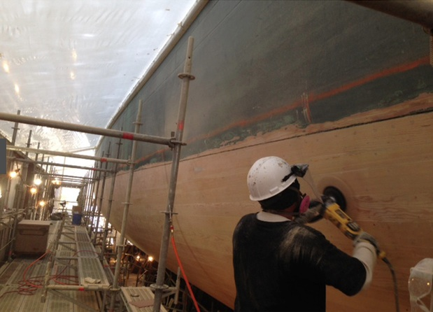 Repairing the USS Constellation and workers lives in the process