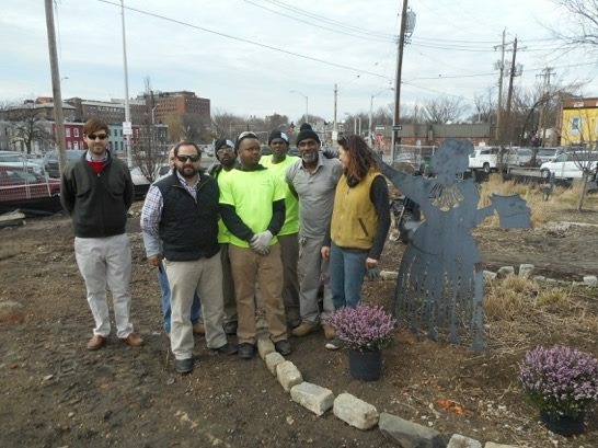 Living Classrooms' Project SERVE Partners with Waverly Main Street for Great American Cleanup Kick-Off Event