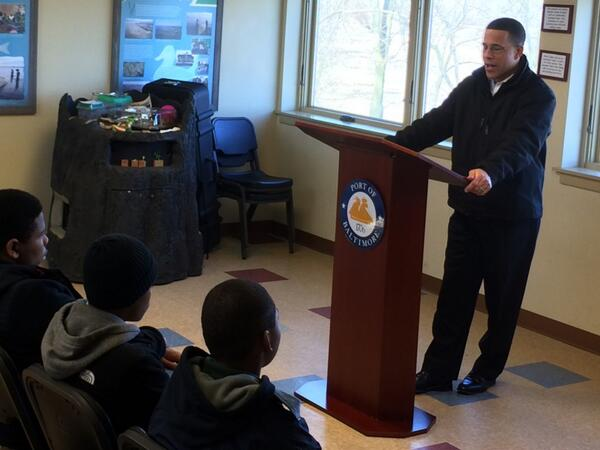 Lt. Governor Anthony Brown Visits Masonville