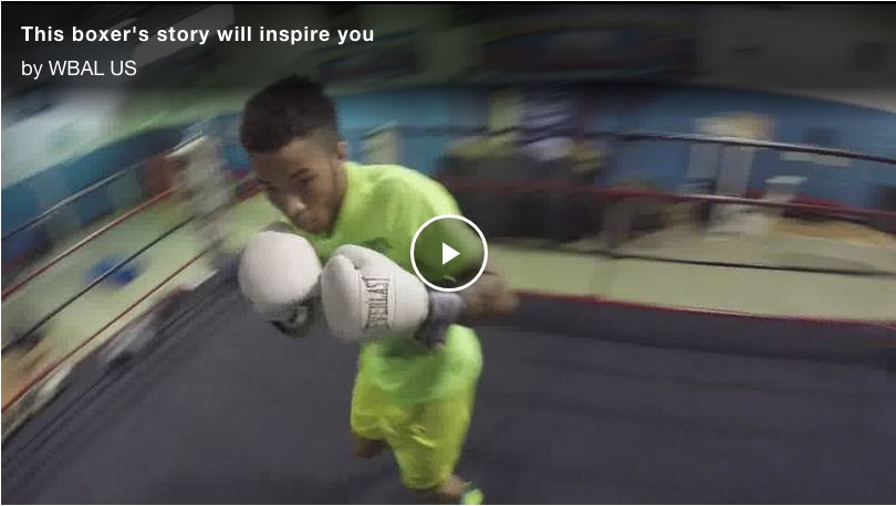 This boxer's story will inspire you