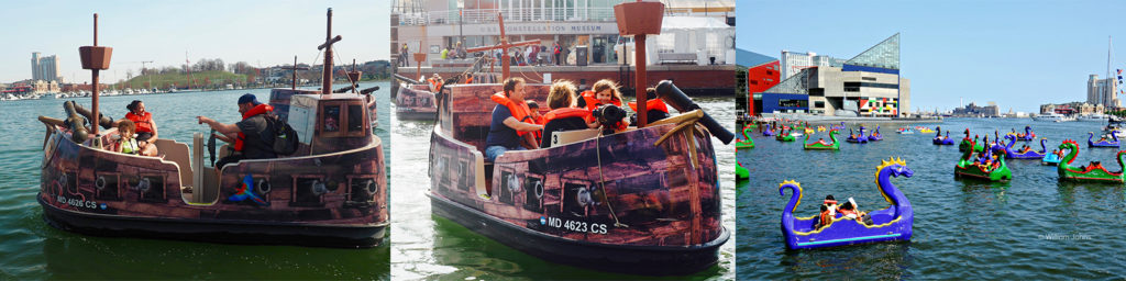 Living Classrooms | Paddle and Electric Boats - Living