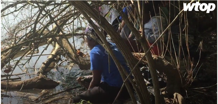 1,000 volunteers show up to help clean up the Anacostia