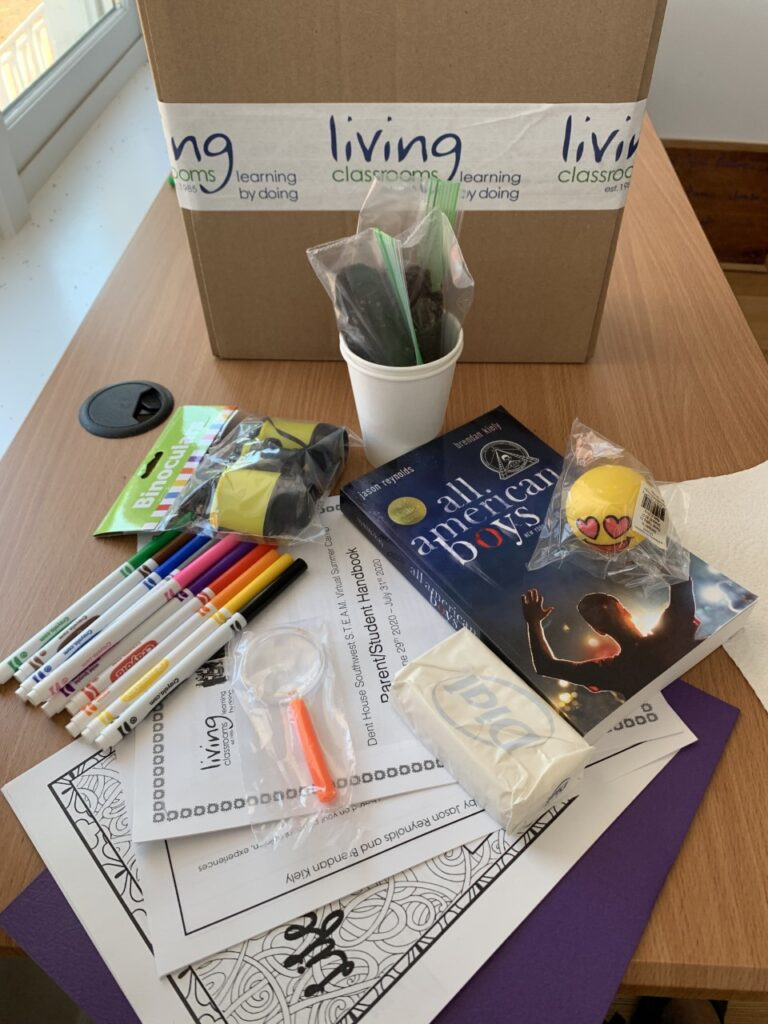 Living Classrooms' Dent House Community Center Brings Virtual Summer Programming to Children and Their Parents in Southwest DC
