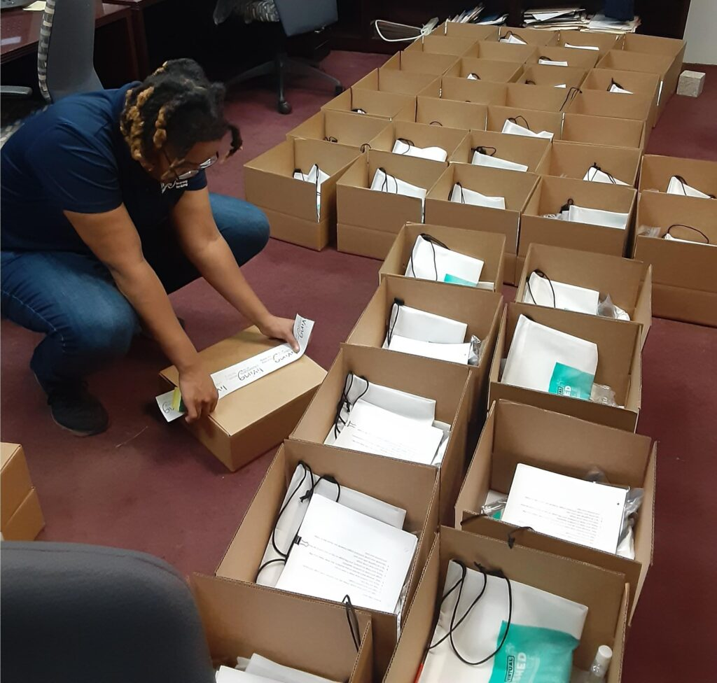 Over 175 DC Students Receive MWEE Activity Boxes for Virtual Programming