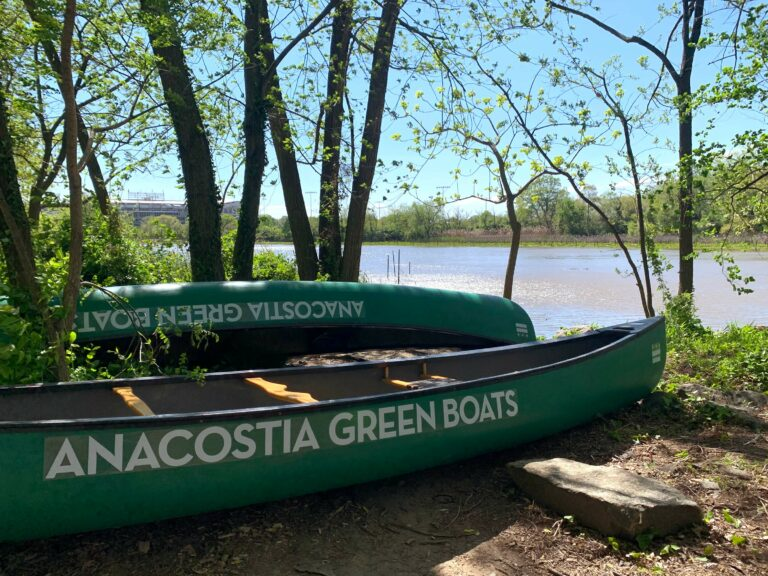 These Boats Are Free, If You Use Them To Pick Up Trash On The Anacostia River