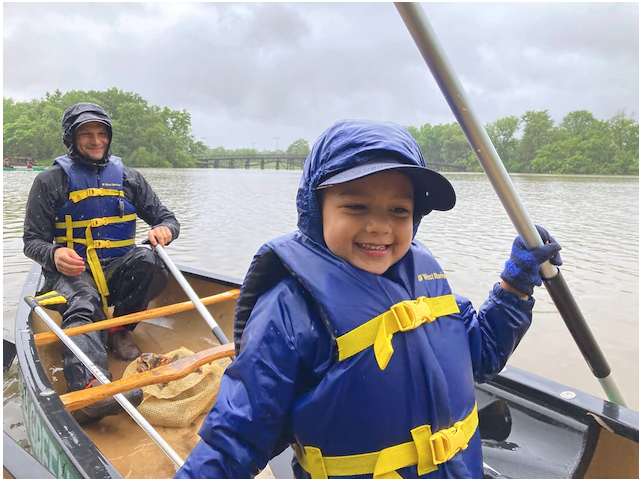 Picking up trash + boating = 'ploating'?  How a new trend in river cleanups can inspire kids to protect habitats